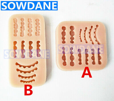 Dental Laboratory Wax Teeth Tooth Rubber Model Inverted Mold Wax Rubber Base