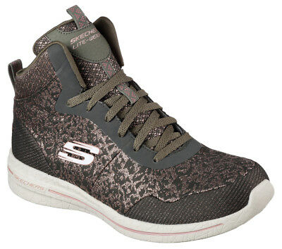 Details about NEW Skechers Womens Sneakers Running Shoe Memory Foam Burst 2.0 FASHION FORWARD OLIVE show original title