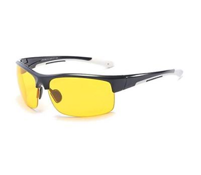 Best HD Night Vision Polarized Glasses Driving Aviator Sunglasses UV400