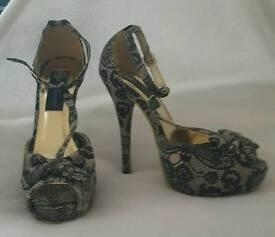 Iron Fist High Heels- Size 5