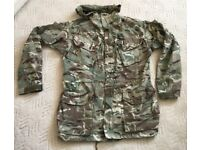 British Army pcs combat windproof jacket in MTP camouflage material