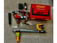 Set of Tools bundle(carpenter/decorator/handy man)