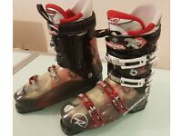 Rossignol Synergy 90 Ski Boots - Translucent Black/Red/White - size 29.5 (10-10.5 UK)