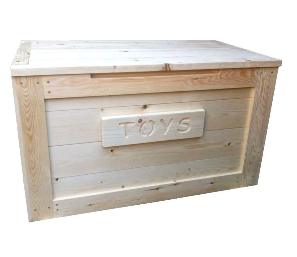 Handmade personalised toy box (made to order)