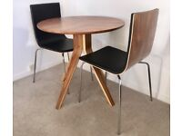 Dining table and chairs (never used, solid wood).