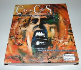 City of Chaos - Monocle Games Ltd (1996) - The Fantasy Board Game