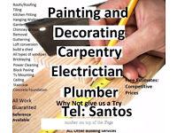 work Shuttering, chippy, handyman