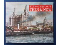 Liverpool Then & Now - Softback book. Very good condition. Free Post to UK mainland addresses.