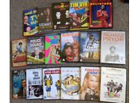 17 Comedy DVD's - Stand-Up, Films, TV. SOME NEW Richard Pryor, Eddie Murphy, Alan Partridge, etc.