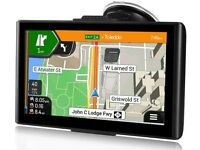 NEW Sat Nav,7 Inch GPS Navigation for Cars Truck Lorry