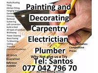 Handyman Carpenter Painting Plumber Electrical Cover All London