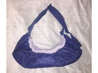 Denim Baby Carrier (Never Been Used)