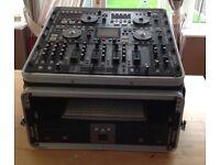 Denon Dj console DN-HC45000, HD2500, X900, D4500 all in a case