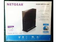 NETGEAR N300 WNR2000 300Mbps 10/100 Wireless N Router. New and sealed.
