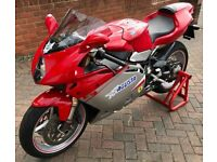 Stunning MV Agusta F4 Motorbike