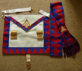 Royal Arch Masonic Regalia
