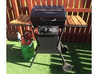 Gas BBQ / barbecue plus gas bottle