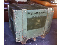 Man Cave coffee table / side table / shop or stage prop etc...Land Rover