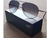 GENUINE & UNUSED!! Men sunglasses MONTBLANC AVIATOR MB325S for £100 - in stores £315 (Unwanted gift)