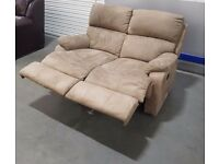 M & S 2 seater recliner sofa
