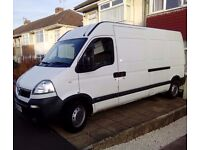 VAN AND MAN HIRE - BRISTOL AREA - FRIENDLY AND RELIABLE SERVICE TO GET YOU MOVING