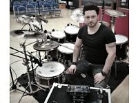 Drum Lessons - Play Drums - professional session drummer - North London