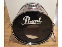 "PEARL BASS DRUM for Drum Kit 22"" x 16"" EXPORT Series metallic finish"