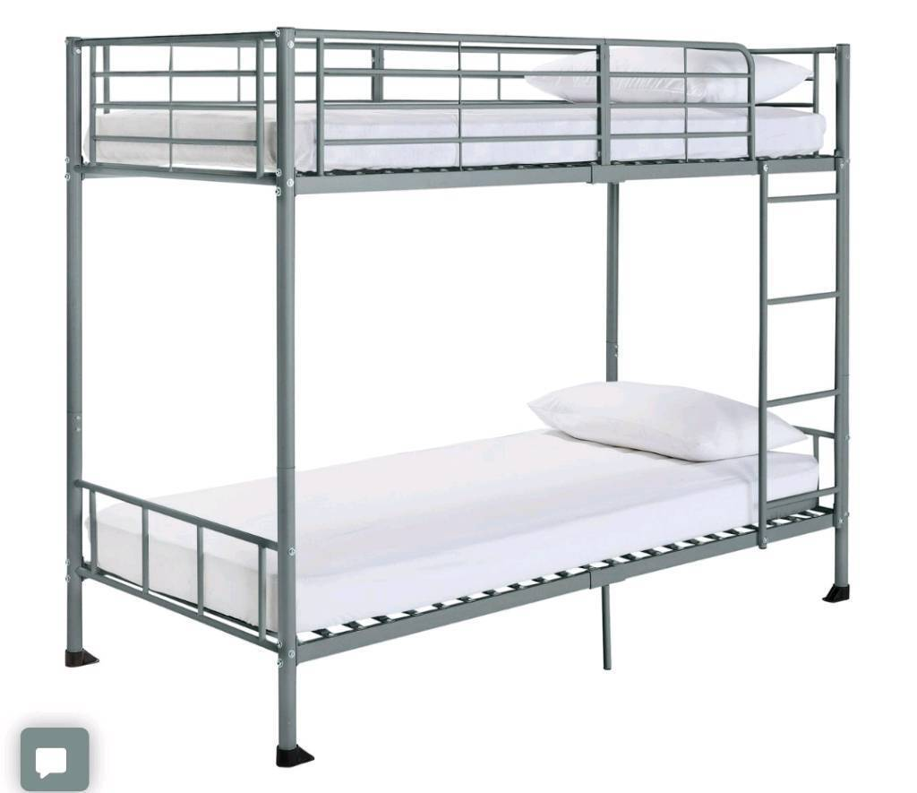 Brand new silver bunk bed frame | in Great Barr, West Midlands | Gumtree