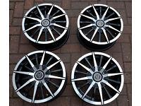 Wolfrace Street Venom 15 inch Alloy Wheels.