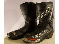 RST TracTech Evo Motorcycle Boots - EU 41 / UK 7 - Road Race Track Race