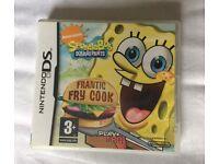 Spongebob squarepants DS game