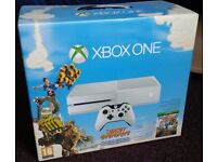 Xbox one console + 2 games