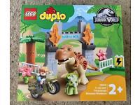 Lego Duplo Jurassic World set 10939 - NEW and unopened