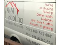 A&M roofing and plastering services, simply click the link to our huge portfolio on facebook!