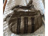 Selling army green handbag!