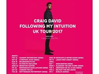 2 X Craig David Seated Tickets London O2 Arena Sat March 25th