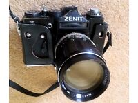 Zenit 11 Russian vintage film camera