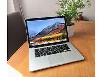"MacBook Pro 15"" with Retina Display / i7, 8gb ram, 256gb SSD - immaculate **URGENT**"