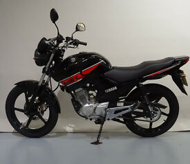YAMAHA YBR125 2013 BLACK / RED 125CC