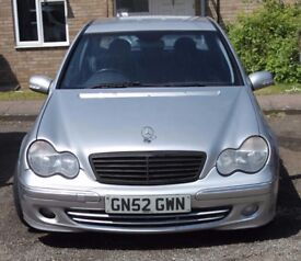 Mercedes C Class c270 CDI 2004 w203 spares or repair no mot