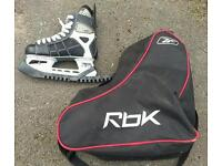 Reebok ccm ice skates in very good condition with bag and blades covers!Can deliver or post!