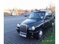 London Taxi 64 plate TX4