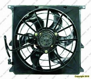 AC Fan Assembly (Without Fan Cover) 92-97 BMW 3-Series (E36) 1992-1997