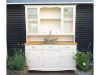 PINE-DRESSER-KITCHEN UNIT-WELSH DRESSER-SIDEBOARD-SHABBY CHIC