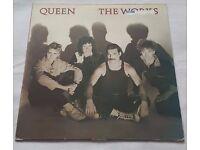 Queen - The Works - LP Album Vinyl Record - WORK1