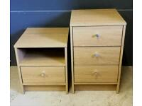 BRAND NEW, EX DISPLAY 2 BEDSIDE DRAWERS!