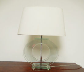 Pair of Next Glass Table Lamps