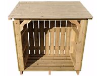 Premium Heavy Duty Log Store for Exceptional Garden Storage (The Ashmore)