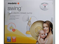 New Medela Swing Electric Breast Pump with Calma