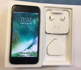 APPLE IPHONE 7 32GB BLACK BOXED VODAFONE